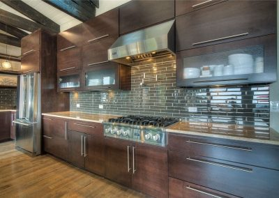 Dark Kitchen Cabinets Elegant 1